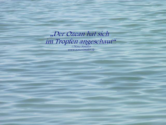 Ozean im Tropfen